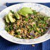 Recept: linzen-boerenkoolsalade met tahin dressing