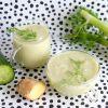 Venkel-komkommer smoothie, fris en romig