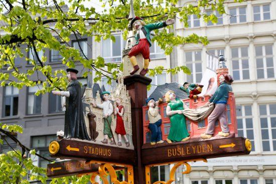 De leukste bewegwijzeringsborden van Mechelen. stedentrip Mechelen, duurzaam, bewust en groen, hotspots en bezienswaardigheden