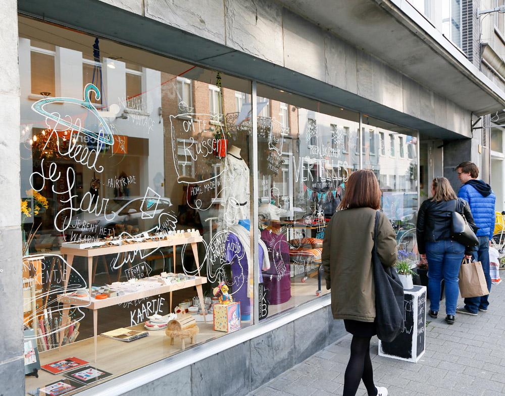 Leuk en lokaal, de ontwerpen bij designwinkel Vertelles. stedentrip Mechelen, duurzaam, bewust en groen, hotspots en bezienswaardigheden
