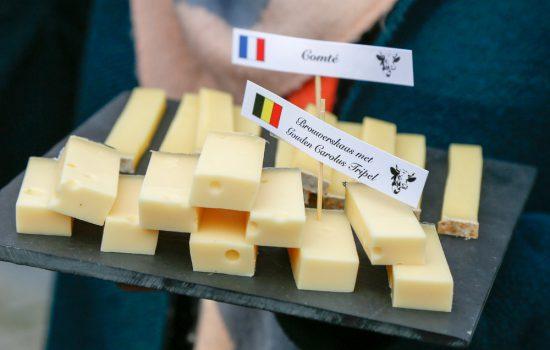 Natuurlijk verkopen ze kaas met bier in Mechelen. stedentrip Mechelen, duurzaam, bewust en groen, hotspots en bezienswaardigheden