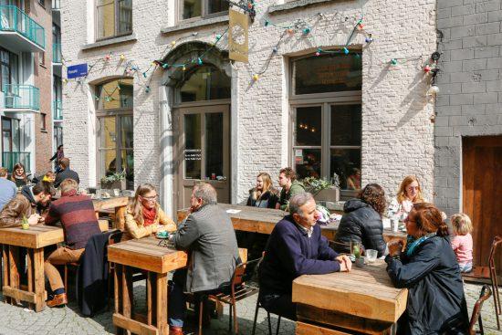 Lekker eten bij restaurant Sister Bean in Mechelen. stedentrip Mechelen, duurzaam, bewust en groen, hotspots en bezienswaardigheden