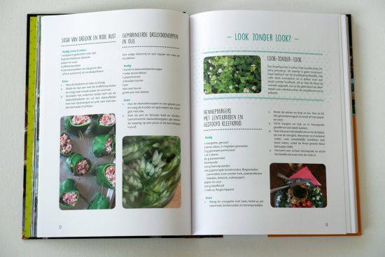 Ook proberen: sushi van daslook (boek: De Natuur op je Bord). wildplukken, boeken, tips, eetbare planten en bloemen zoeken
