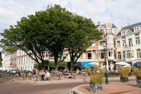 Het leukste plein van Den Haag: het Anna Paulownaplein in de Zeeheldenbuurt, stedentrip, hotspot,