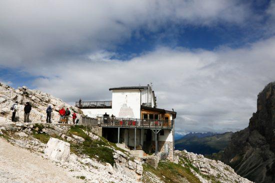 Het Pale Plateau is ook zomers met een skilift te bereiken, duurzaam reizen, rondreis Trentino, Italie, duurzame, groen, groene