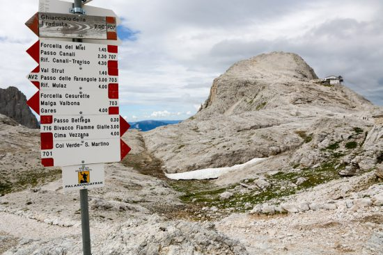 Vele trekking en wandelpaden op het Pale Plateau in Trentino, Italie, duurzaam reizen, rondreis Trentino, Italie, duurzame, groen, groene