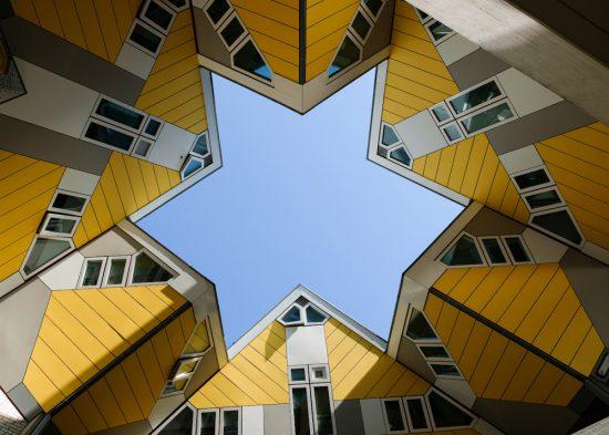Stedentrip Rotterdam, duurzaam, kubuswoningen, architectuur