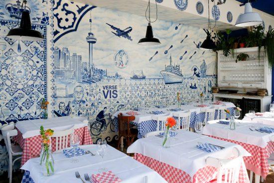Restaurant De matroos en het meisje op Katendrecht, Rotterdam, Stedentrip Rotterdam, duurzaam, winkels, restaurants, hotspots, adresjes
