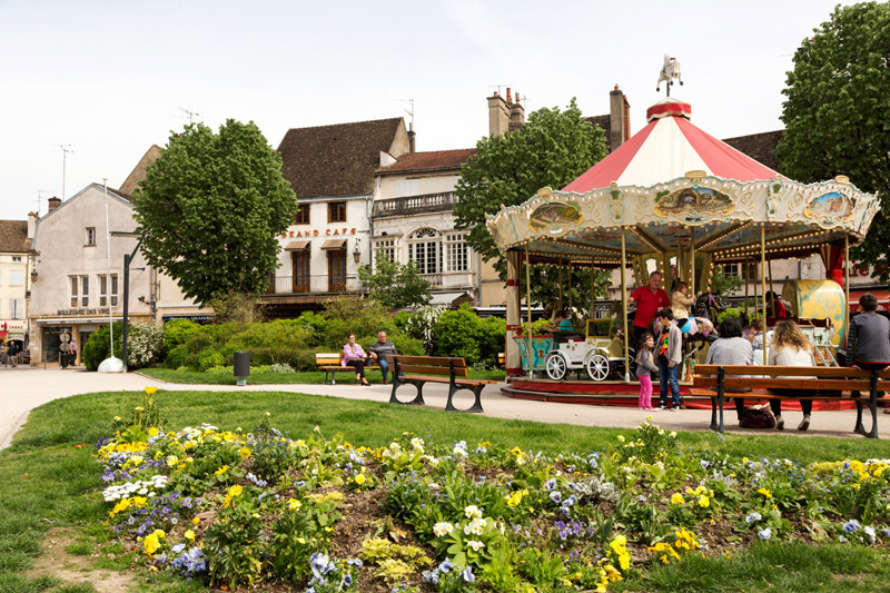 Beaune is een mooi beginpunt voor een fietsvakantie in de Bourgogne, Fietsen in de Bourgogne, Frankrijk
