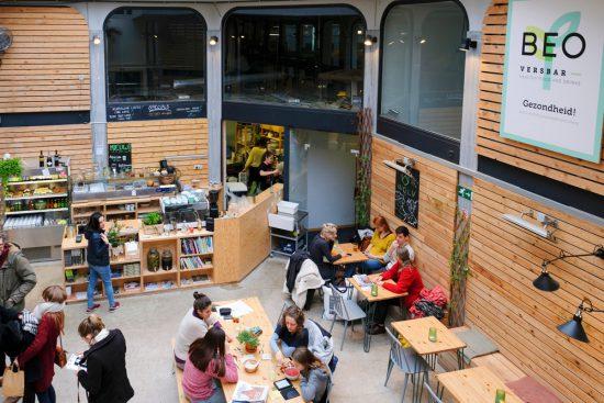 Plantaardig lunchen bij BE O Versbar in Gent. Gent, Belgie, stedentrip, weekendje weg, vegan, vegetarisch, restaurants, tips, veggie hoofdstad