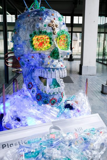 Plastic afval is voor veel dieren dodelijk. Gent, Belgie, stedentrip, weekendje weg, vegan, vegetarisch, restaurants, tips, veggie hoofdstad