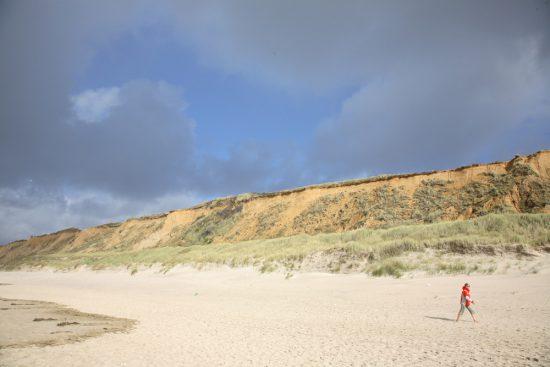 Op Sylt vind je bijna altijd wel een rustig stukje strand. Rondreis Duitse Wadden, waddeneilanden, Duitsland, waddenzee, Sylt