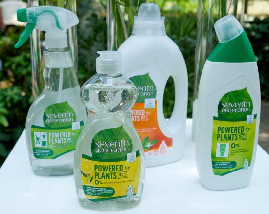De schoonmaakproducten van Seventh Generation van Unilever bevatten tot 87% plantaardige ingredienten