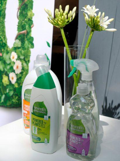 De schoonmaakproducten van Seventh Generation van Unilever bevatten tot 97% plantaardige ingredienten