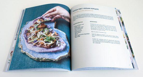 Homemade, de perfecte vegan pizza. kookboek van Manon van Essen