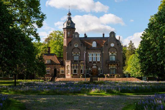 Landgoed Vilsteren ligt vlakbij Ommen. Fietsen door het Vechtdal van Duitsland naar Nederland, fietsvakantie