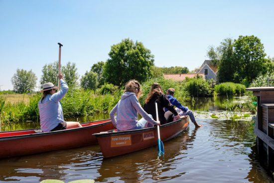 Wetlands Safari, kano tour in Ilperveld, de groene achtertuin van Amsterdam, n