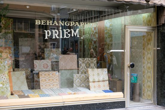 Voor een prachtig behangetje ga je naar Priem in Gent. Sneukelen in Gent, stedentrip Belgie