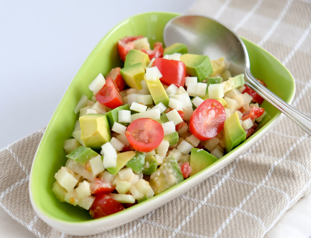 Recept: koolrabi-avocado zomersalade