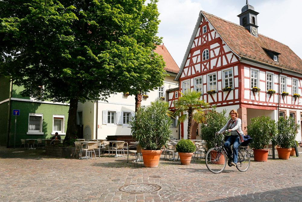 Die Bergstrasse: fietsen in Mediterraan Duitsland