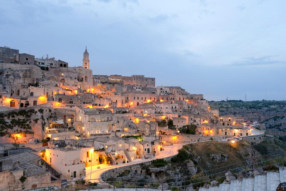 De sassi van Matera, van shabby naar chic