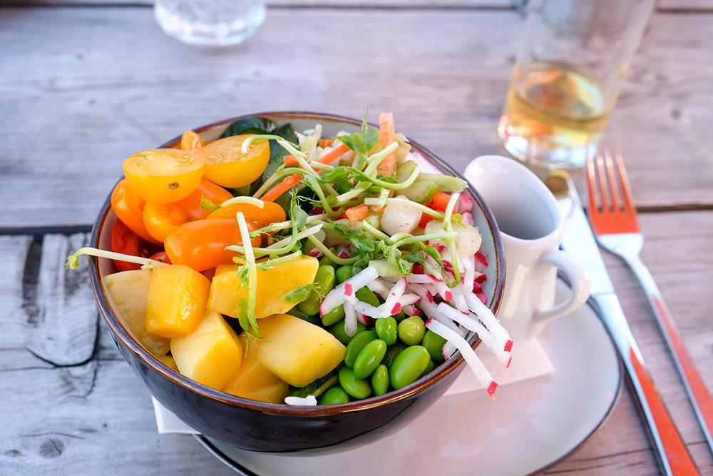 Lekker en gezond eten bij Netl in de Noordoostpolder, Flevoland