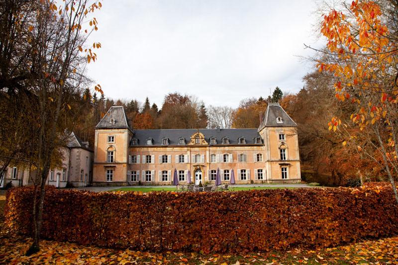 Hotel Chateau du Pont d'Oye is een heerlijke overnachtingsplek Rondreis La Gaume, Wallonie, Belgie, hotspots, bezienswaardigheden, roadtrip