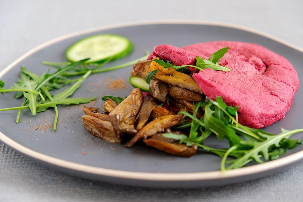 Lunchgerecht: Oesterzwam-gyros met pitabrood