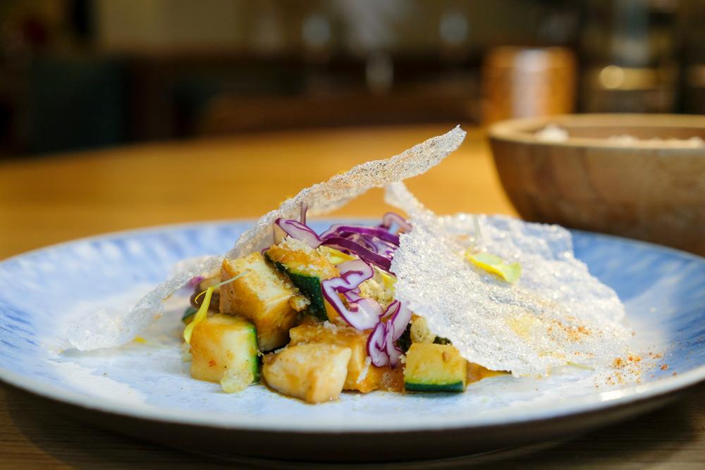Heerlijke vegan gerechten bij restaurant UMAMI