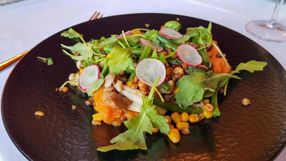 Heerlijk vegan eten in restaurant Prinsenhof. rondreis Waddenkust, Groningen, roadtrip