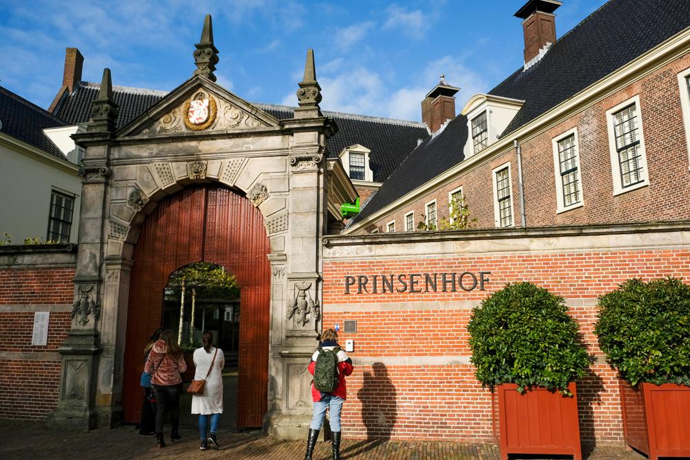 restaurant Prinsenhof in de stad Groningen. rondreis Waddenkust, Groningen, roadtrip