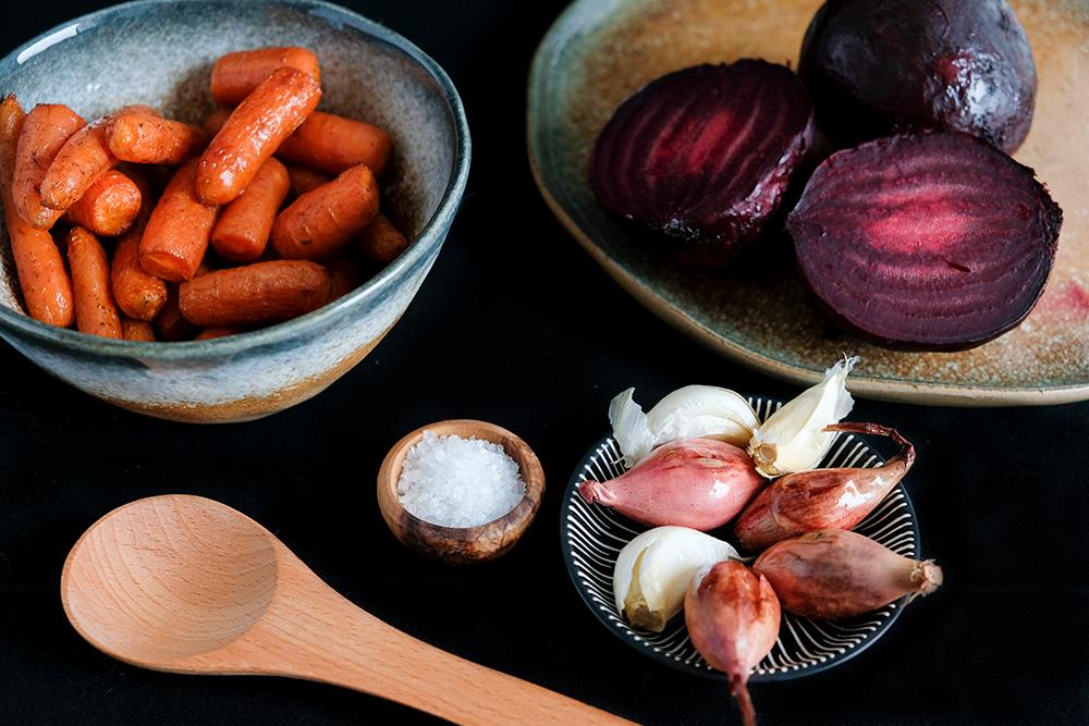 Geroosterde groenten uit de oven