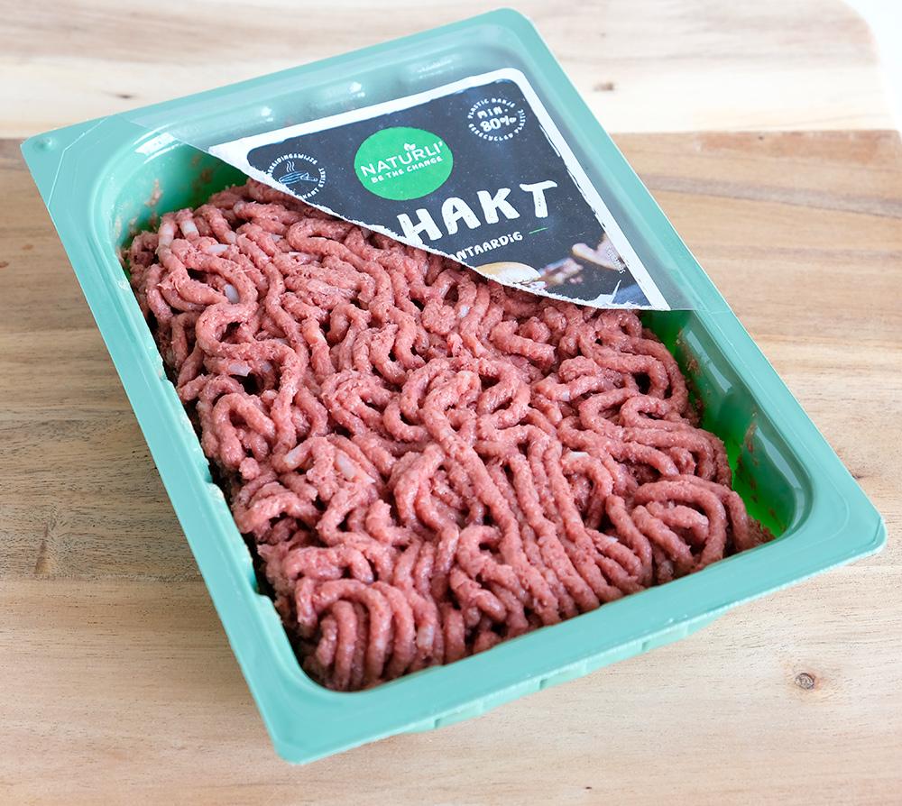 Veganistisch gehakt van het merk Naturli, vegan