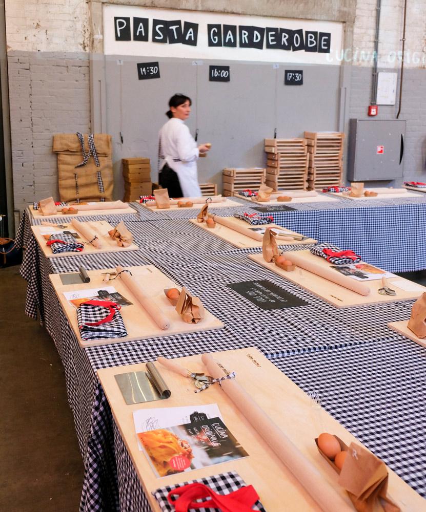 Cucino originale organiseert pasta workshops. Zelf pasta maken tijdens het Little Italy evenement in Amsterdam