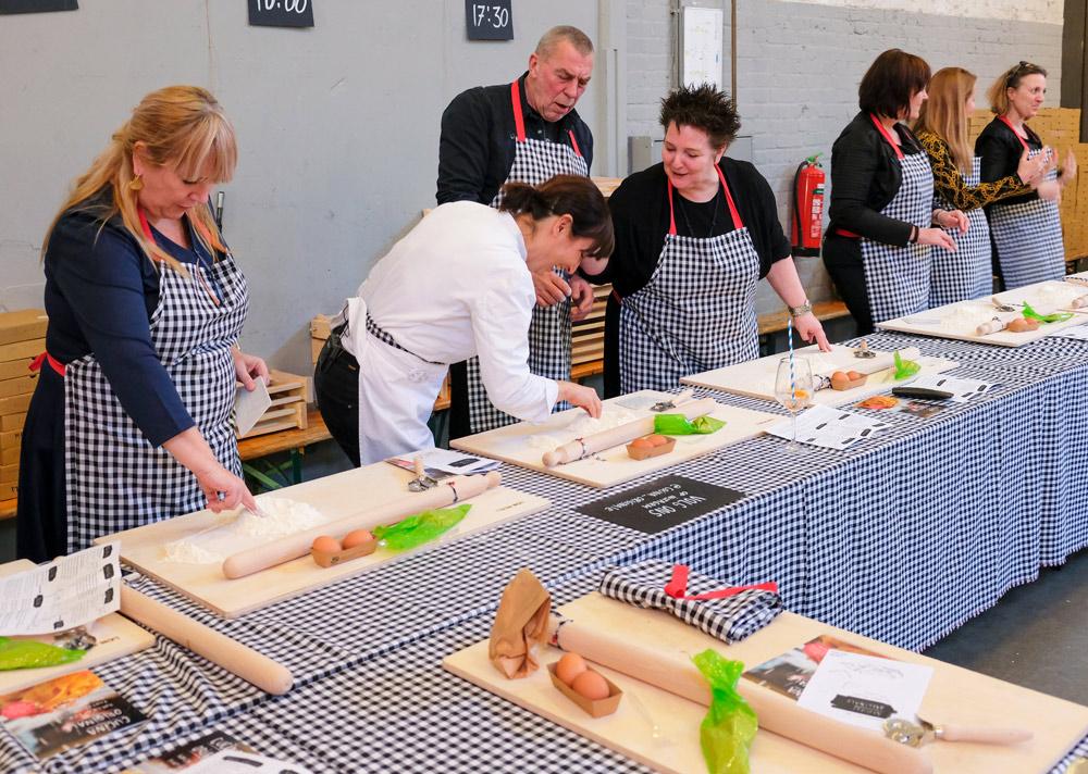 Little Italy in Amsterdam, lekkerbekkend leren koken