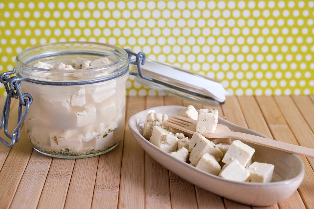 Gefermenteerde tofu: het is bijna vegan feta