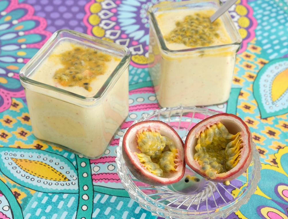 Recept: Ananas-smoothie met appel en passievrucht