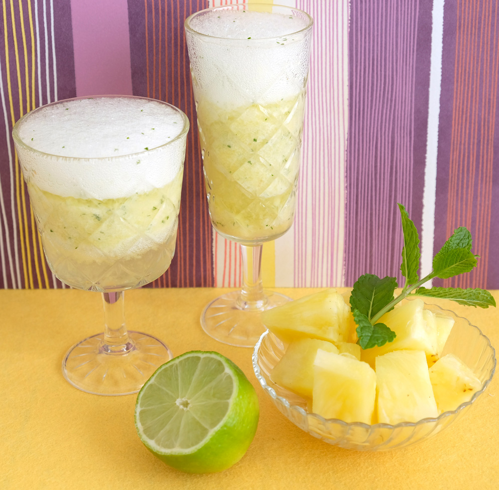 3 x Ananas in de hoofdrol: smoothie, mocktail en dessert