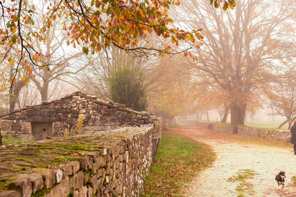 Een mysterieuze mist maakt Altilia nog specialer. Molise, Italie, duurzame rondreis in een ontontdekte regio. Moleasy
