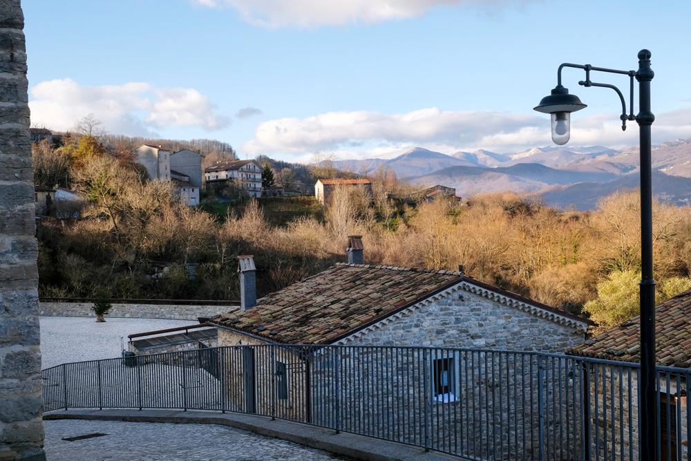 Een nieuwe dag in hotel Borgotufi in Castel del Giudice. Molise, Italie, duurzame rondreis in een ontontdekte regio. Moleasy