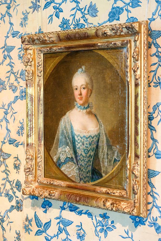 Een portret van Belle van Zuilen. Slot Zuylen in Oud-Zuilen