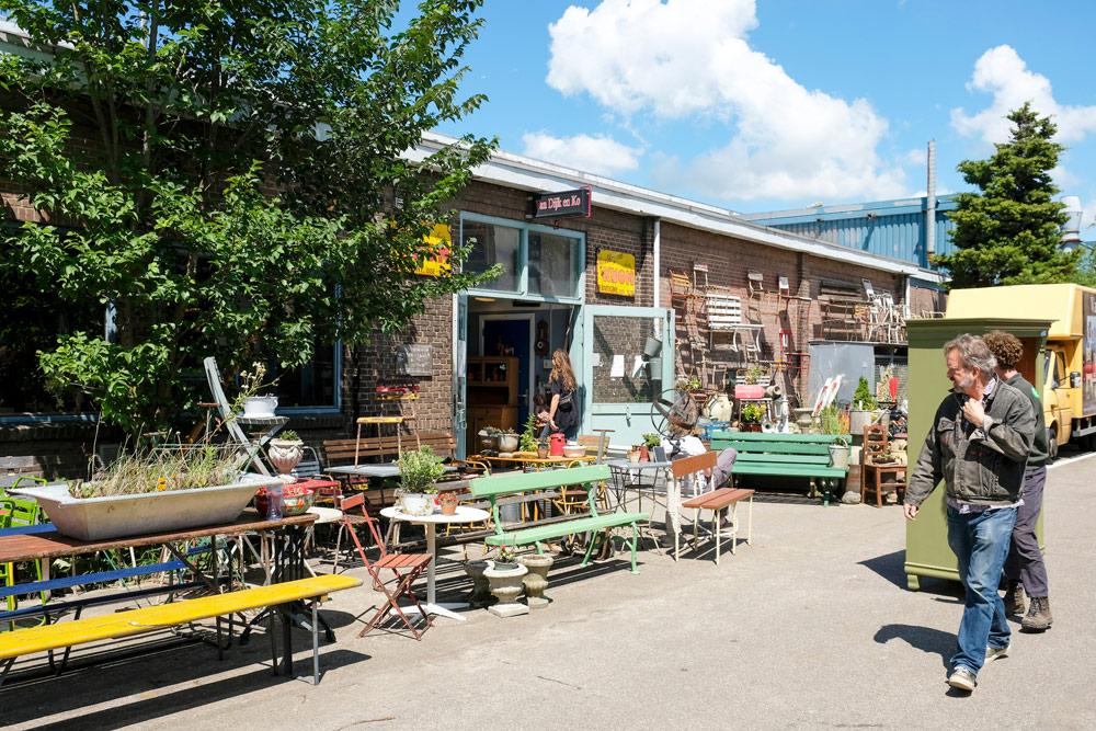 Sla je vintage slag bij dit fijne adresje in Amsterdam-Noord. Wandelroute Amsterdam-Noord, wandelen, duurzaam